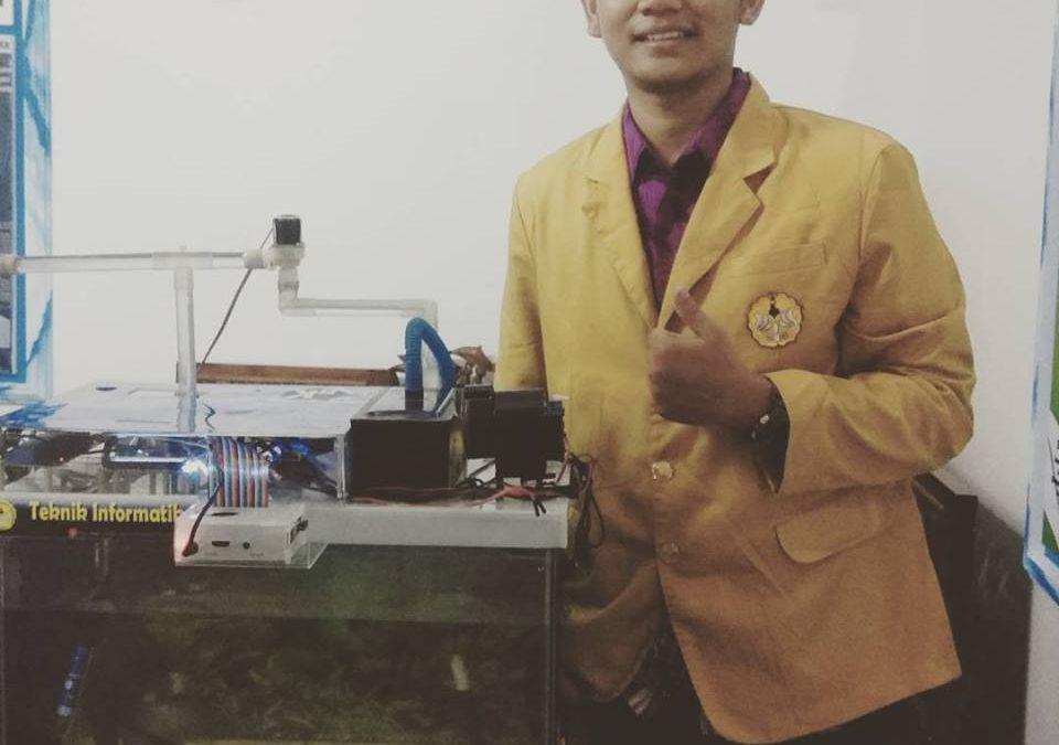 Mahasiswa Informatika Menciptakan Smart Aquarium