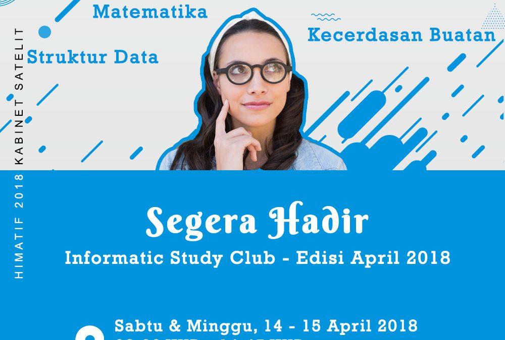 Informatic Study Club #1